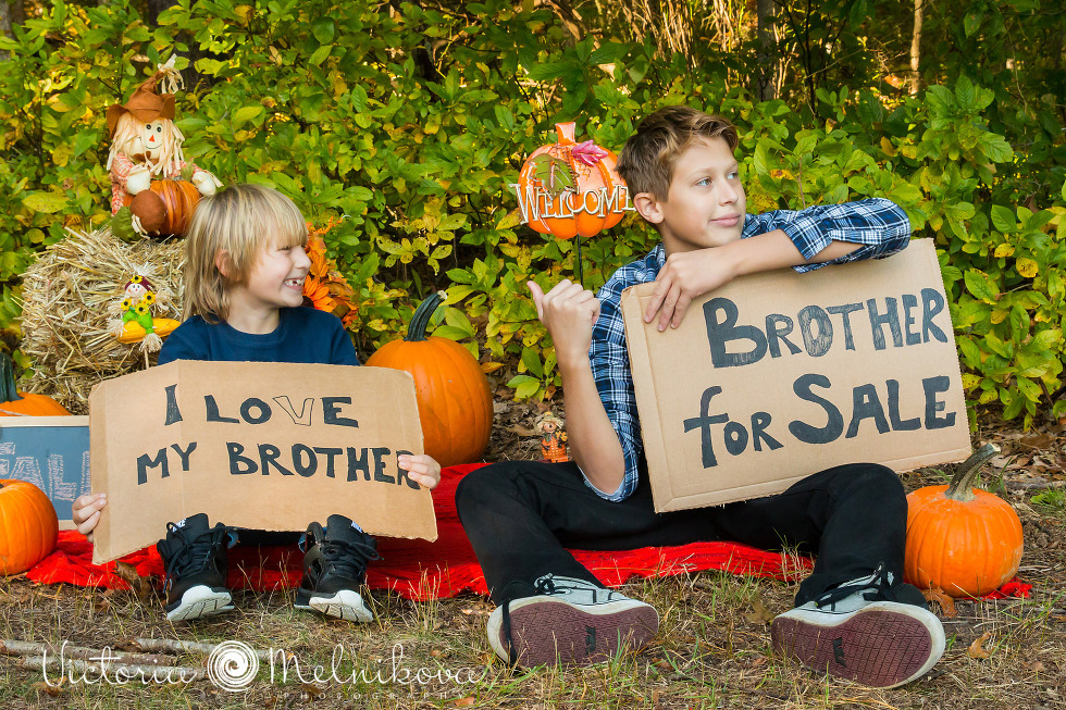 Great photo idea for brothers