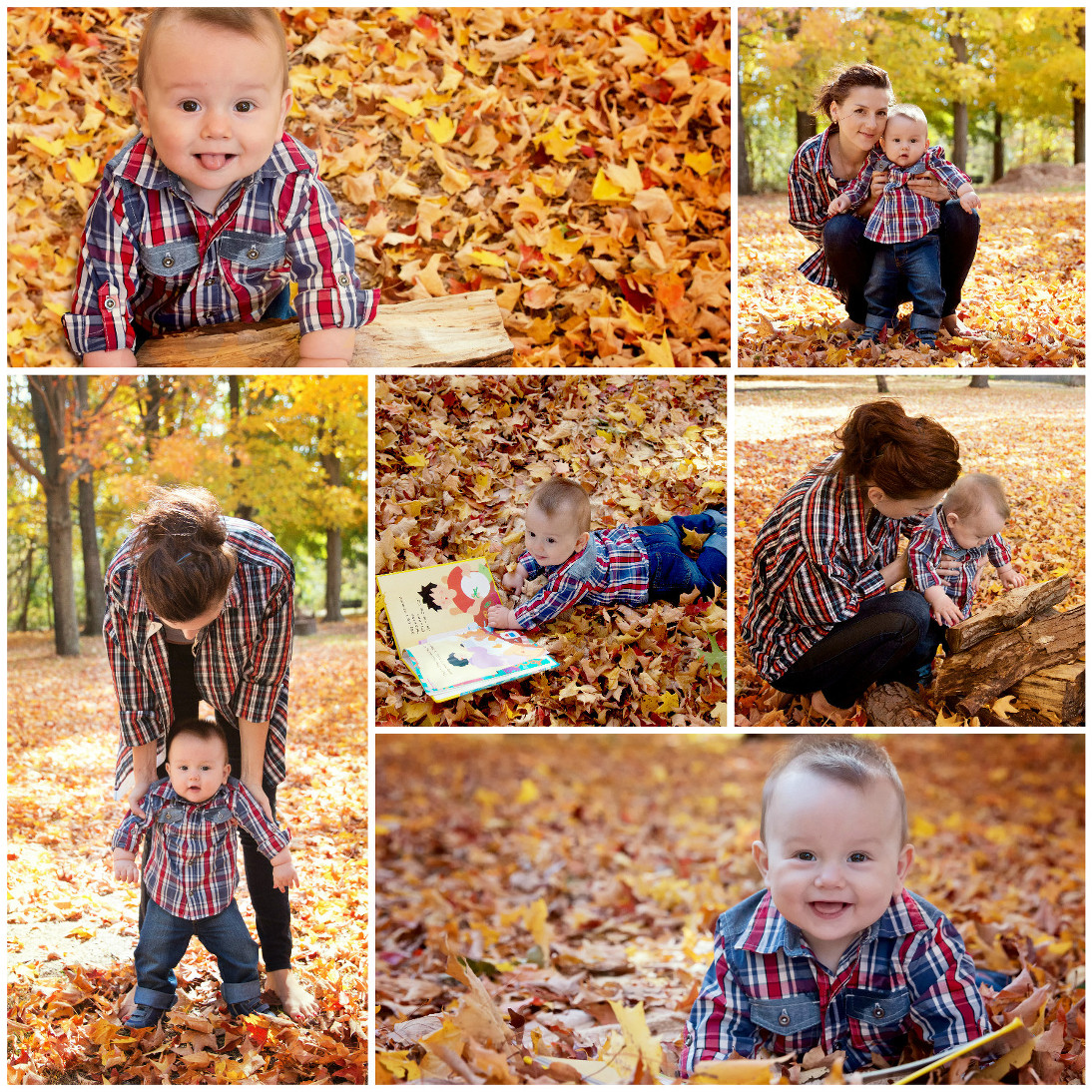 Happy 9-month-old Baby Boy ~ New Jersey Child and Family Photographer