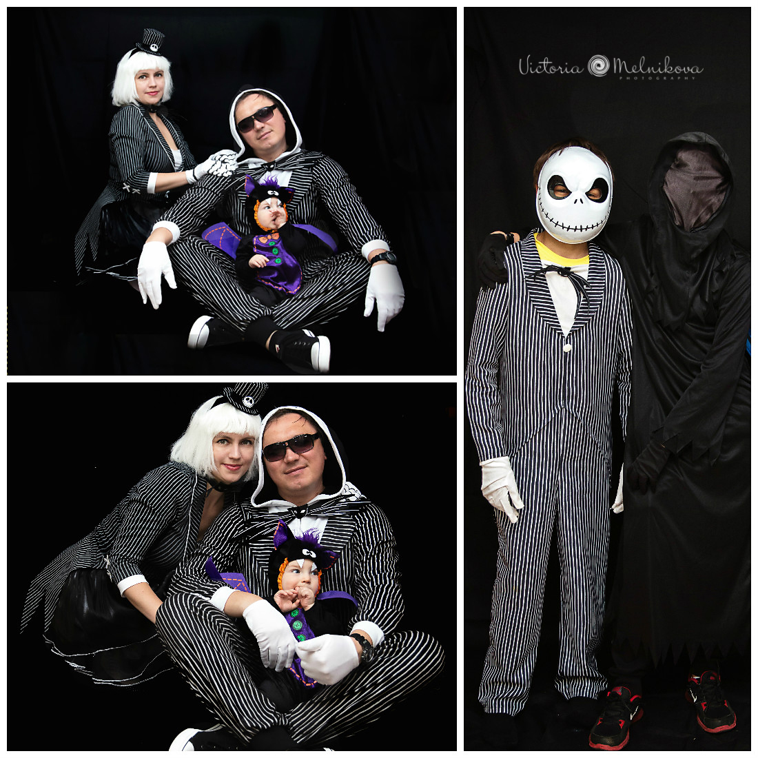 Halloween family photo session