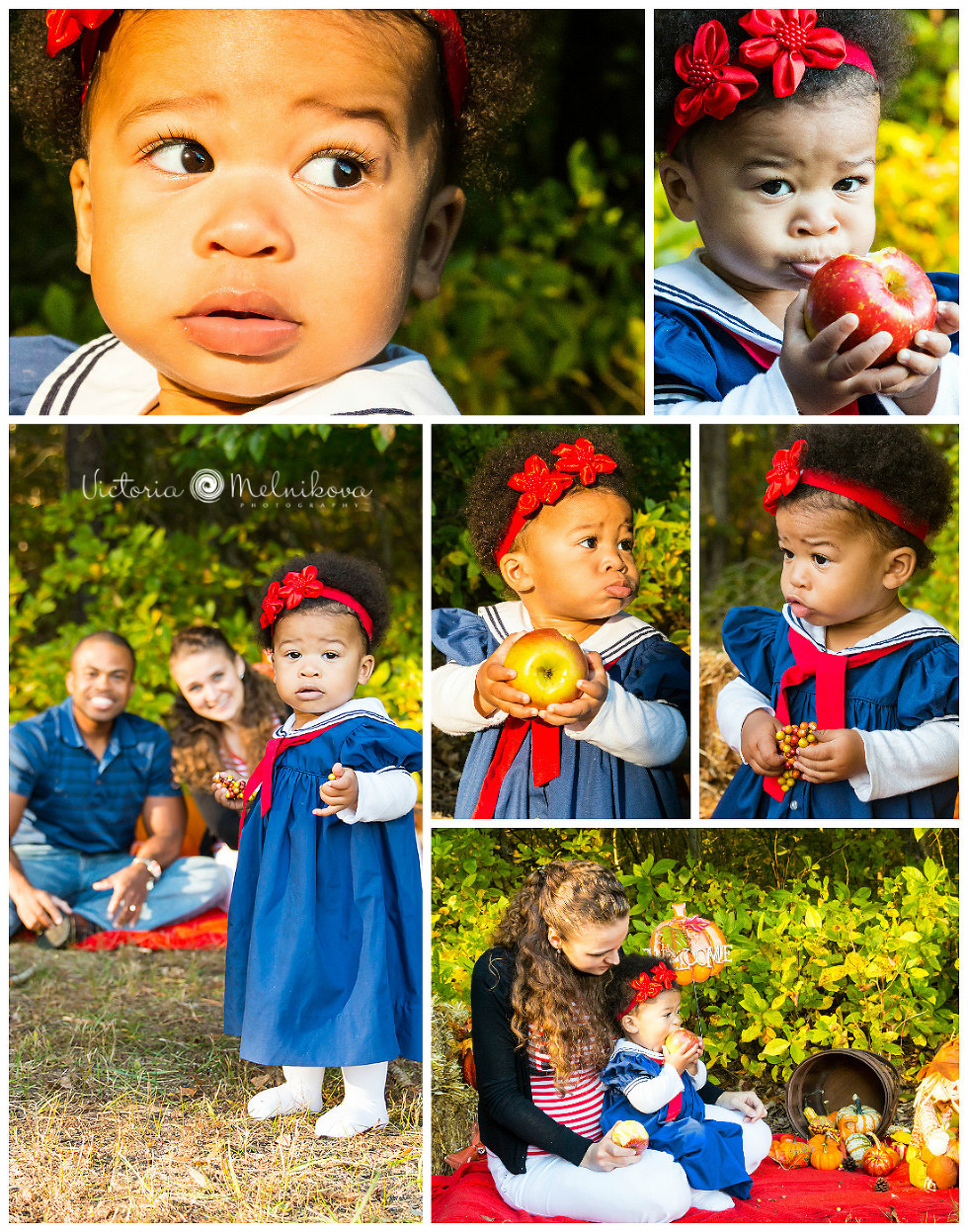 Fall Family Session at Turkey Swamp park