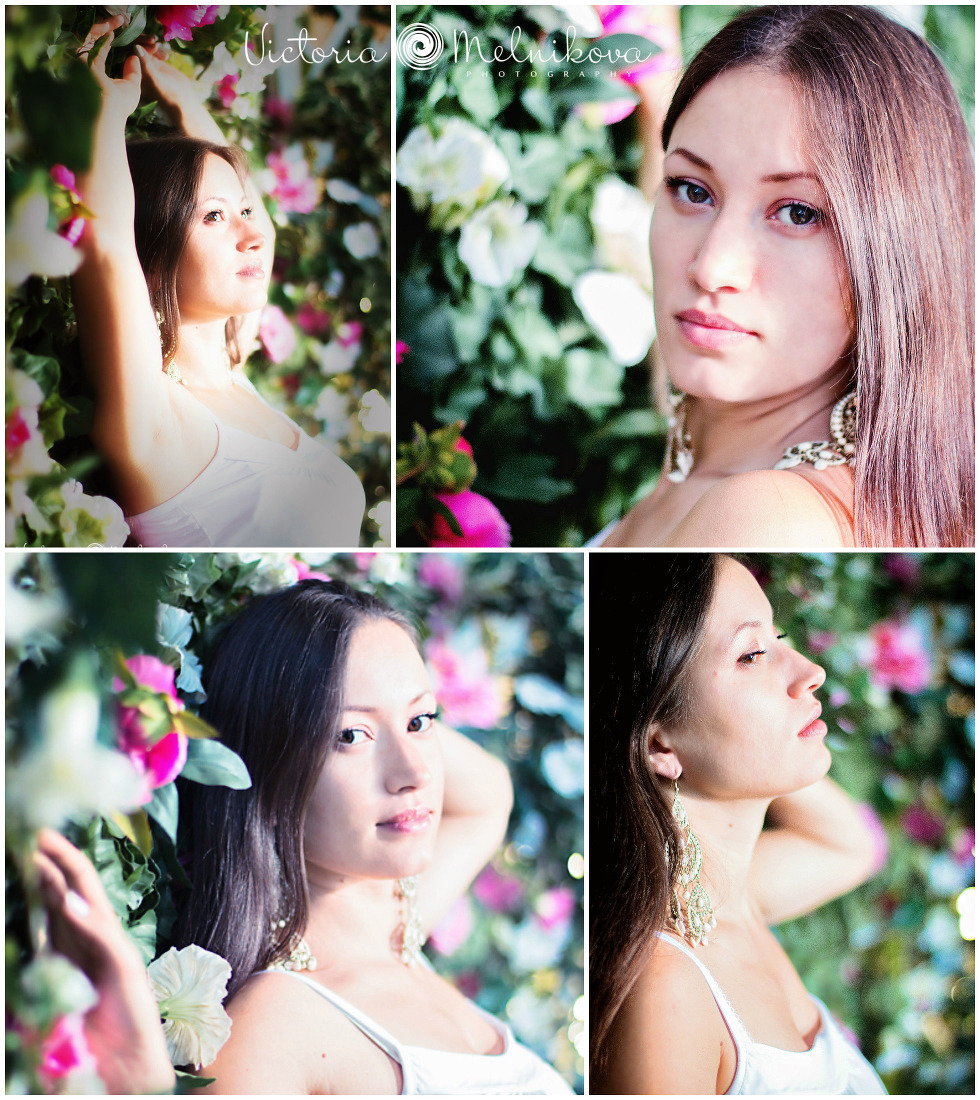 Flowers photosession ideas