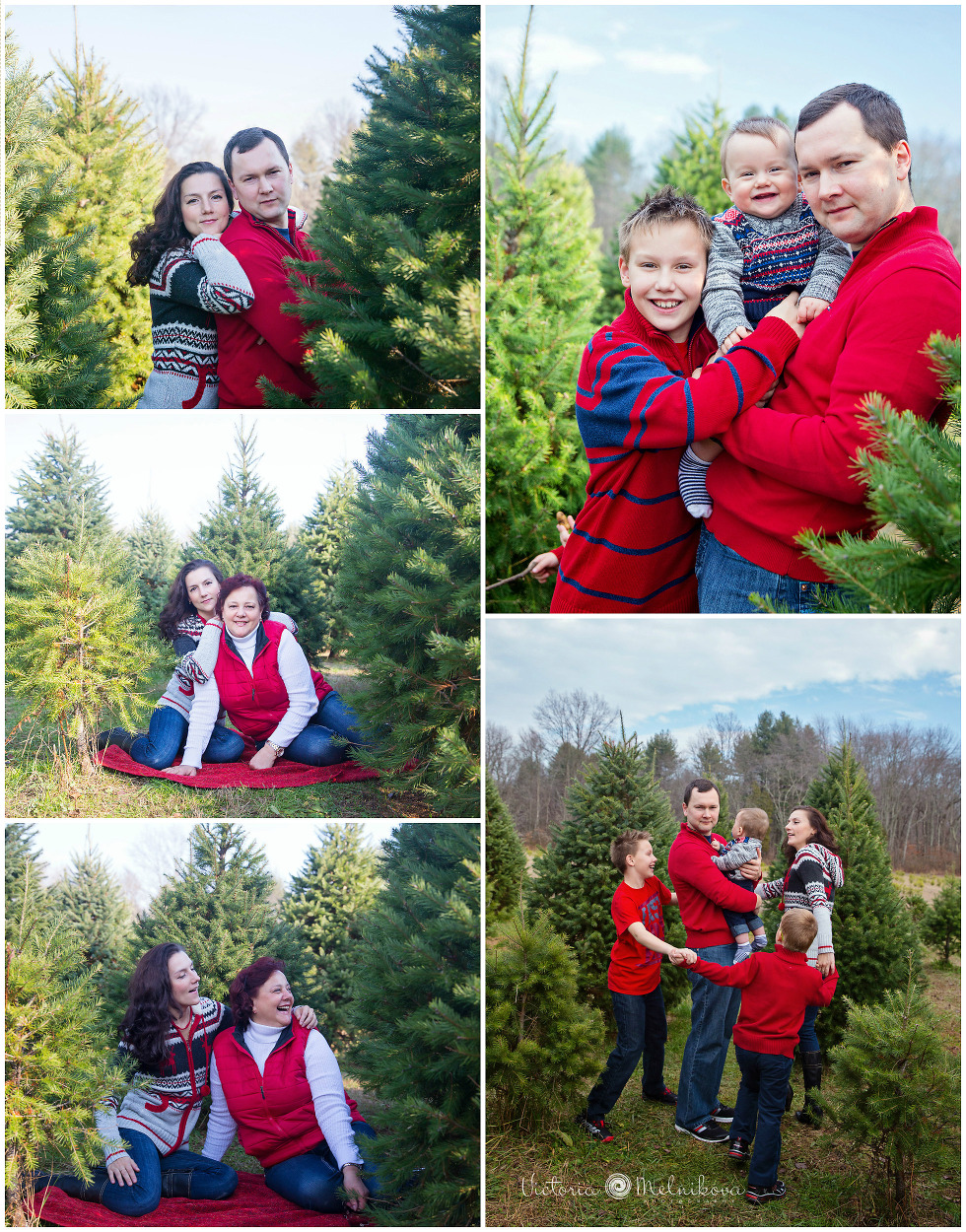 Holiday photo ideas for family