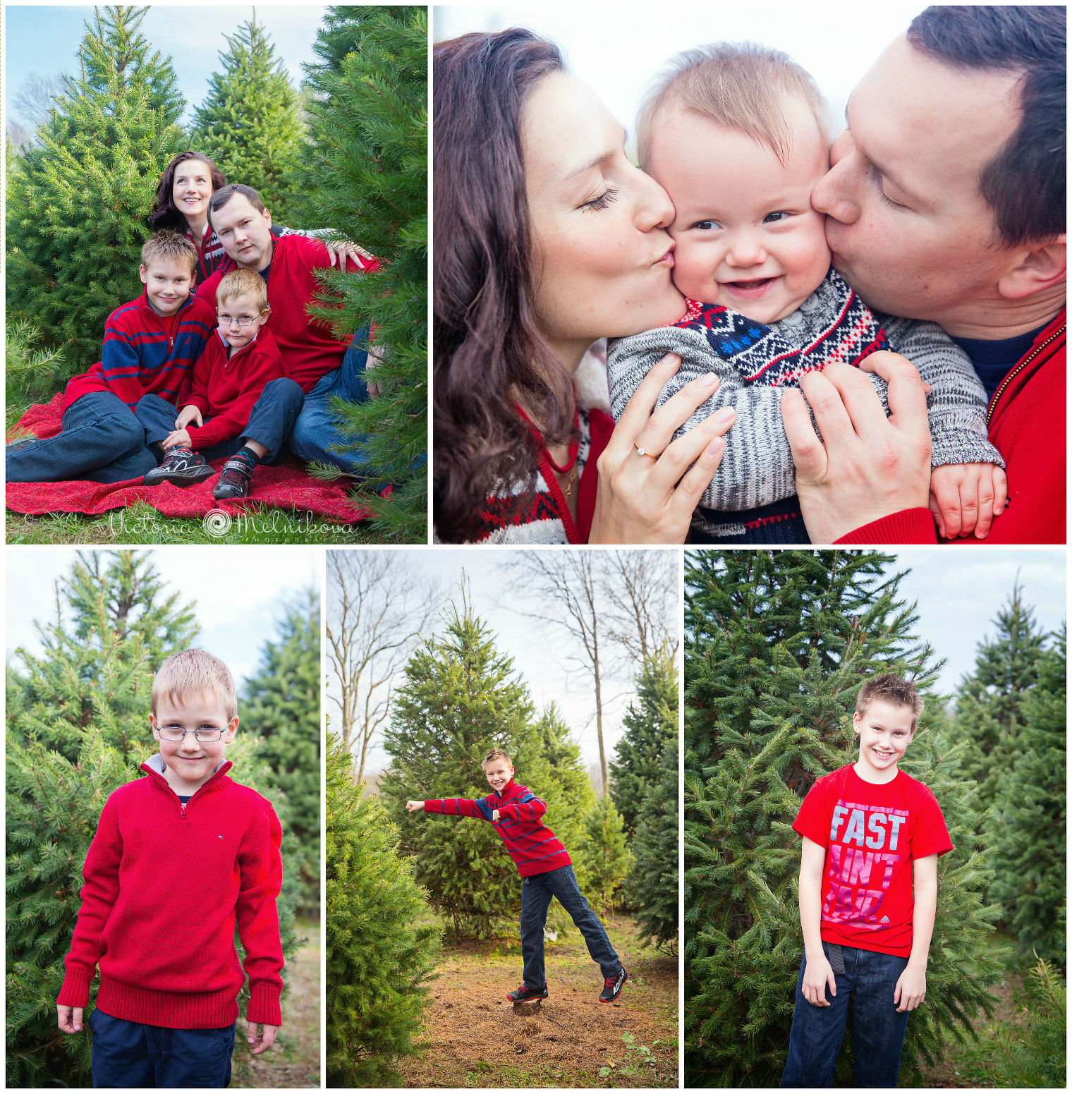 New Jersey family holiday session