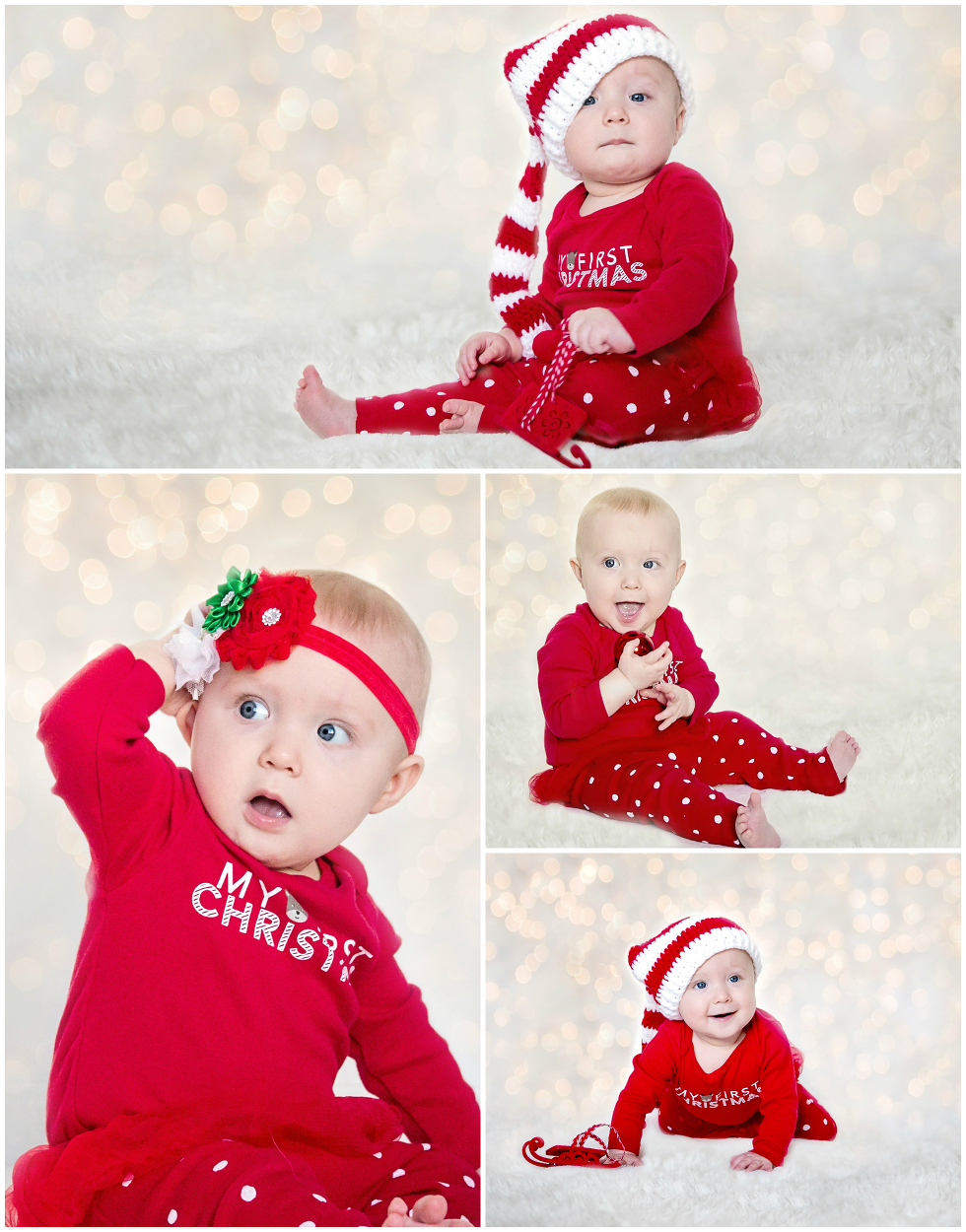 Baby Christmas photo ideas