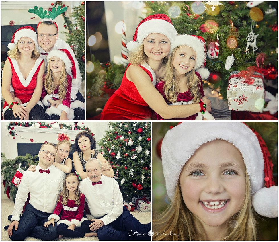 Christmas family photo ideas