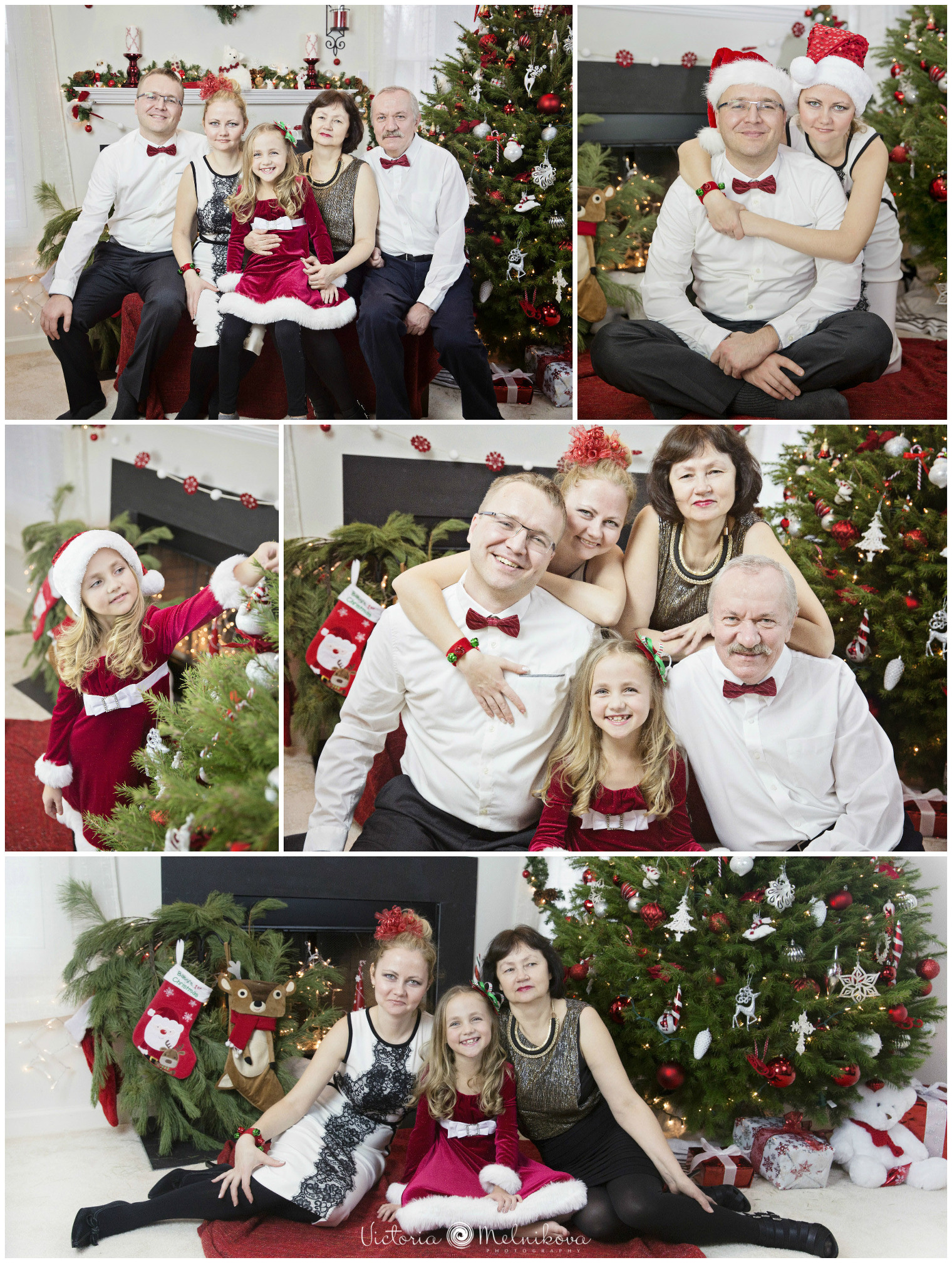 Christmas photo ideas for family