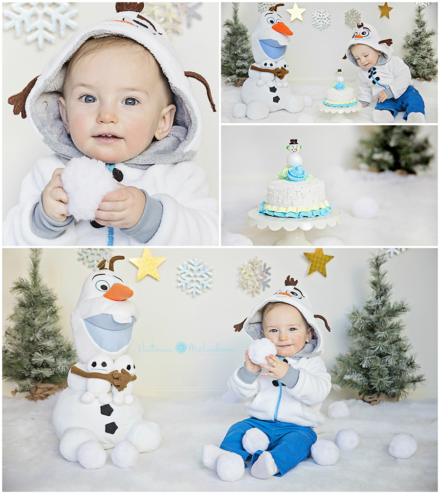 Baby first birthday winter ideas