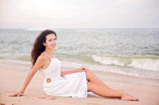 Senior Session, Beach Edition